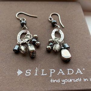 W1963 Silpada Hailstorm sterling earrings